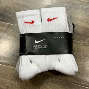 NIKE EVERYDAY CUSHIONED CREW SOCKS YTH 5Y-7Y